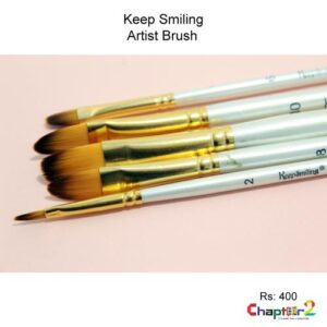 Keep Smiling Artist Brush