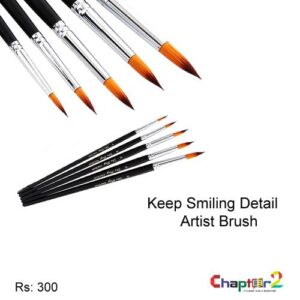 Keep Smiling Detail Artist Brush