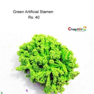 Artificial Green Stamen