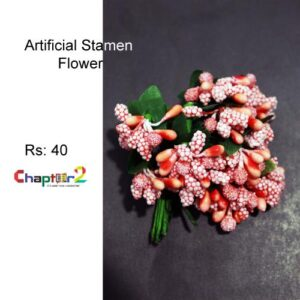 Artificial Orange Flower Stamen