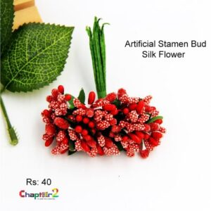 Artificial Stamen Bud Silk Flower