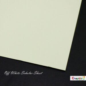 scholar sheet