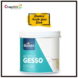 Bluebird Acrylic Gesso Paint Black – 600 gm | Acrylic Paints