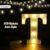 LED Alphabet Letter Lights - t