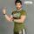 Gladious Men's Sports Slim Fit Fitness Cotton T-Shirt - green - medium